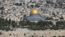 Jerusalem. EPA-EFE/ATEF SAFADI