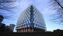 Edificio que albergará la nueva embajada de Estados Unidos en la capital británica. Foto:EPA-EFE/ANDY RAIN