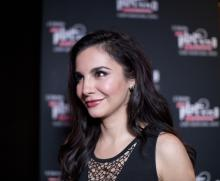 Mexican actress Martha Higareda arrives to the announcement of the 5th Platino Ibero American Cinema Awards nominations ceremony in Hollywood, California, United States, March 13, 2018. EFE