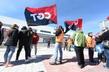Amazon's main logistics hub in Spain hit by mass 2-day strike.EFE/Fernando Villar