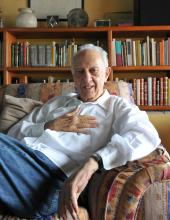 Acclaimed Mexican author Sergio Pitol, a recipient of Spain's prestigious Cervantes Prize who died on April 12, 2018, at the age of 85, is seen at his home in Xalapa, Mexico. EPA-EFE/Luis Ayala/File