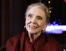 A file picture dated on Dec. 5, 2012 (reissued May 29, 2018) shows Spanish singer Maria Dolores Pradera, who has died at the age of 93, her family confirmed. EPA/FILE/JJ Guillen