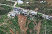 """The death toll fromHurricaneMaria, which ravaged Puerto Rico last year, could exceed 4,600, at least 70 times more than the 64 victims that the island""""s government acknowledged, a study published Tuesday in the New England Journal of Medicine says. EFE"""