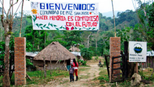 Comunidad de Paz de San José de Apartadó. Tomado de caracol.com.co