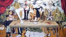 La mesa herida, de FridaKahlo. Foto: Wikimedia/Commons