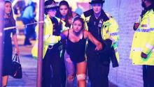 The Manchester police suspect terrorism after a deadly explosion at an arena in Manchester, where the American pop star Ariana Grande had been performing.  GOODMAN/LNP/REX/SHUTTERSTOCK/AP