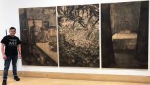 Diego Hiromi Rodríguez Carrión es un joven artista puertorriqueño, estudiante de la Pennsylvania Academy of Fine Arts, PAFA. Su obra Exodus será parte de la exhibición permanente del Woodmere Art Museum. Atelier San Juan