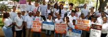 President Luis Abinader signed into law on Wednesday that child marriages are illegal. Photo; elcaribe.com.do