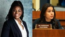 Reps. Cori Bush and Nanette Barragán have been fighting racial inequities amid pandemic for months. Photo: NBC/Getty Images