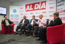 Committee of 70 and AL DÍA News partnered to host a conversation with the Democratic candidates for Pennsylvania's 197th District. Samantha Laub / AL DÍA News