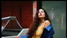"""""""I've found a community of Latino artists here that I didn't know existed before! It's important to have a scene of people who understand where your experiences come from."""" PHOTOGRAPHY: Juliana Caviedes"""
