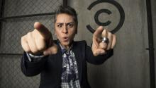 Kikis is a leading comedian in Mexico City. Photo: Comedy Central