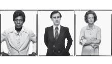 (L to R) Barbara Jordan, U.S. Congresswoman from Texas, New York, July 14, 1976; Jerry Brown, Governor of California, Sacramento, California, March 20, 1976; Katharine Graham, Chairman of the Board, The Washington Post Company, WashingtonD.C., March 11th 1976. All photographs by Richard Avedon.