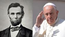 The Pope will speak from Lincoln's Gettysburg Address lectern
