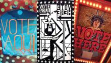 Next Stop: Democracy! voter engagement through public art