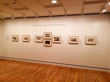 80 of his over three hundred prints are being exhibited at the Philadelphia Museum of Art until September.  Photo:Peter Fitzpatrick/AL DIA News
