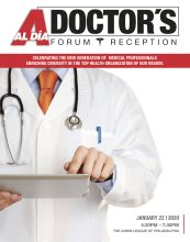 This will be the second annual AL DÍA Top Doctors Forum & Reception event, taking place on Jan. 22, 2020 at the Union League of Philadelphia. Photo Courtesy of AL DÍANews.