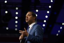 Julián Castro was the only presidential candidate with a dedicated police reform plan in 2019, but at the time, his initiatives weren't wholly accepted by his entire party. Photo: Stephen Maturen/Getty Images