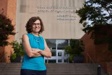 Dr. Ana Diez Roux is AL DÍA's Medical Archetype for this year's AL DÍA Hispanic Heritage Month celebration. Photo: Harrison Brink/AL DÍA News.