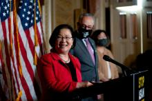 Rep. Mazie Hirono. Photo: Stefani Reynolds/Getty Images