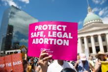 A judge permanently blocked an Iowa anti-abortion law. Photo: Saul Loeb/Getty Images