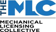 Mechanical Licensing Collective (The MLC) logo.