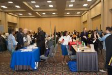 AL DÍA News welcomed job seekers and recruiters from throughout the Philadelphia region. Samantha Laub / AL DÍA News