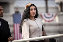 Gisele Barreto Fetterman at the inauguration. Photo: PA Governor's Office