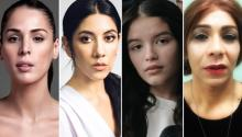 Carmen Carrera, Stephanie Beatriz and YaYa Gosselin are part of the cast in the short Period. PHOTOGRAPHY: Deadline