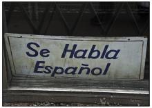 Foto: 'Se Habla Español' (Seth Anderson víaFlickr,Attribution-NonCommercial-ShareAlike 2.0 Generic (CC BY-NC-SA 2.0).