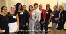 Latina entrepreneurs gather during a last year's Pitch Competition. Photo Courtesy of Latinas in Business.