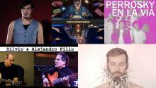 Emmanuel Horvilleur, El Cuarteto de Nos, Izal, Alejandro Filio y Silvio Rodríguez, Perrosky.