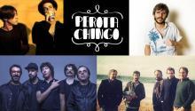 El Cuarteto de Nos, Ceratiy Melero, McEnroe, Perotà Chingó, Xoel López
