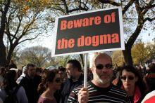 "Photo: ""Beware of the dogma,"" Antonio Zugaldia via Flickr"