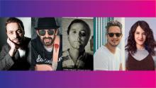 Antonio Zambujo, Juan Luis Guerra, Rubén Blades, Vicente García,Ximena Sariñana.