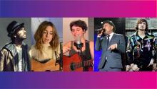 David Otero, Sofía Ellar, Miau Trio, Rubén Blades, Zoé.
