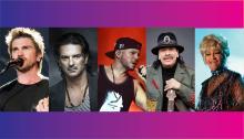 Juanes, Ricardo Arjona, Calle 13, Santana, Celia Cruz