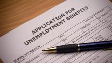 Unemployment benefits application. Photo: Getty Images.