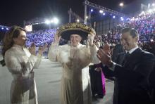 La visita del papa Francisco a México (hasta el momento) en imágenes