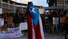 El 11 de juniolos puertorriqueños decidirán el futurode la isla respecto a su relación con Estados Unidos. Foto: EFE.