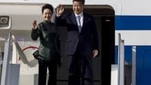 Chinese president, Xi JinPing, and his wife, during his visit to Ecuador last week. China wants to tighten its economic and trade deals with Latin America. EFE/José Jácome