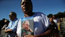 In La Havana, Cubans are mourning their former leader. EFE/Alejandro Ernesto