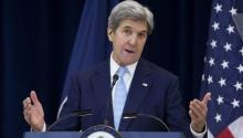 Secretary of State John Kerry defended a decision by the United States to abstain in a recent United Nations vote on Israeli settlements during a speech on Wednesday.EFE/Shawn Thew