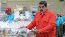 Venezuelan Leader Nicolás Maduro ordered big boost to minimum wage. Photo:  EFE/MIRAFLORES