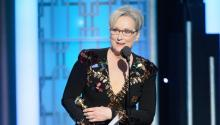 """In a recent example, after Meryl Streep blasted Trump at the Golden Globes for allegedly mocking a physically disabled reporter during the campaign, the billionaire tweeted that he never did any such thing and blamed the misunderstanding on a """"very dishonest media."""". EFE"""