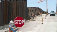 Trump shades his bigoted targeting of Latinos with another justification for that hugely expensive wall: blocking terrorists. EFE