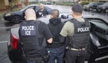 Los agentes del ICE desarrollan operativos de detencionesa lor largo y ancho del país. Foto suministrada por ICE.