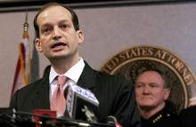 President Trump has nominated Florida International University Law Dean Alexander Acosta to the position of Secretary of the Department of Labor. Photo: EFE