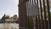 The US Border wall near San Luis, Arizona. EFE/Gary Williams