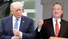 Jim Kenney, Donald Trump,
